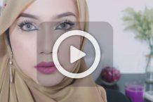 فیلم آرایش ابرو و کشیدن خط چشم