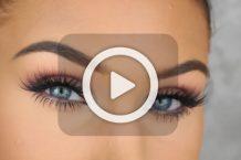 فیلم آرایش چشم پاییزه