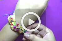 فیلم ساخت دستبند دکمه ای