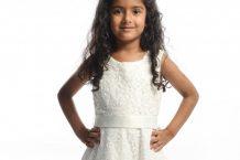 مدل لباس عروس دخترانه Sevva