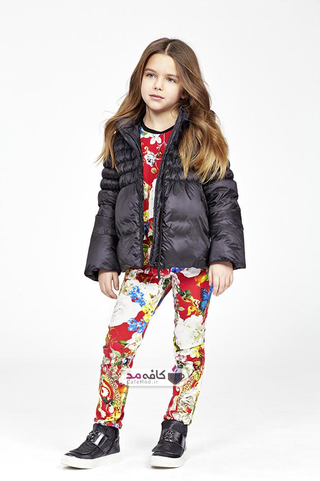 مدل لباس پاییزه دخترانه Roberto Cavalli