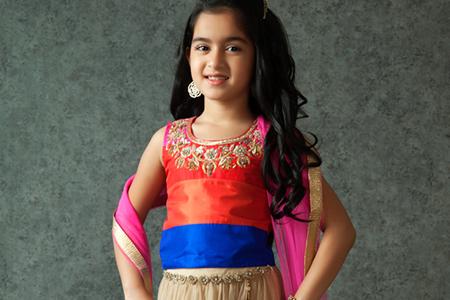 مدل لباس دخترانه هندی 2