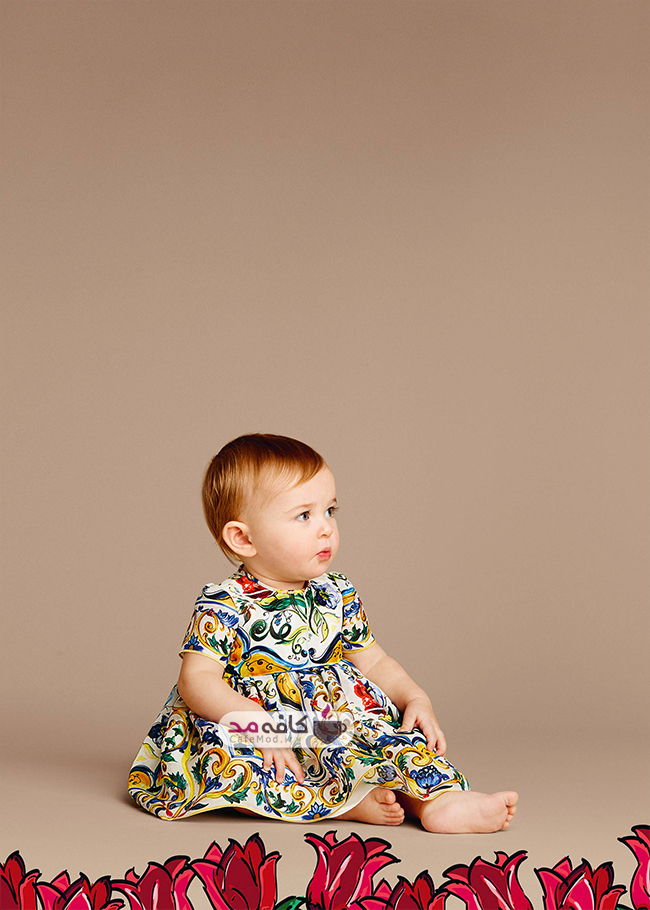 مدل لباس دخترانه بچه گانه DolceGabbana