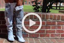 فیلم ساخت بوت هایی از جنس جین