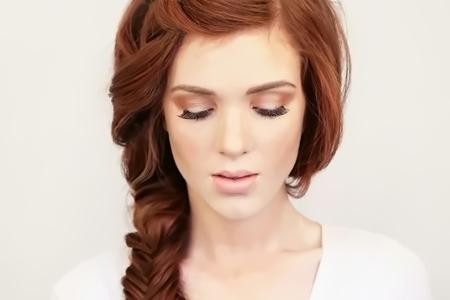آموزش تصویری بافت موی دخترانه