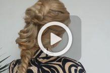 فیلم آرایش موی بلند در منزل