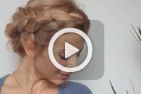 فیلم آموزش بافت موی زنانه
