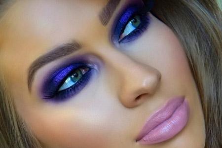 مدل آرایش شیک مجلسی 4