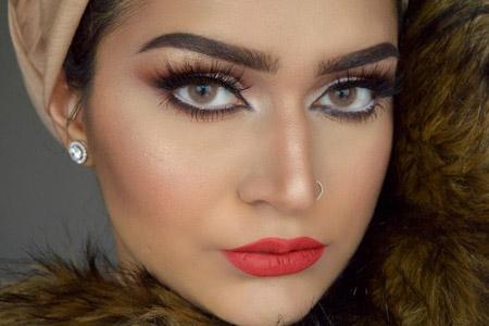 مدل آرایش عربی 11