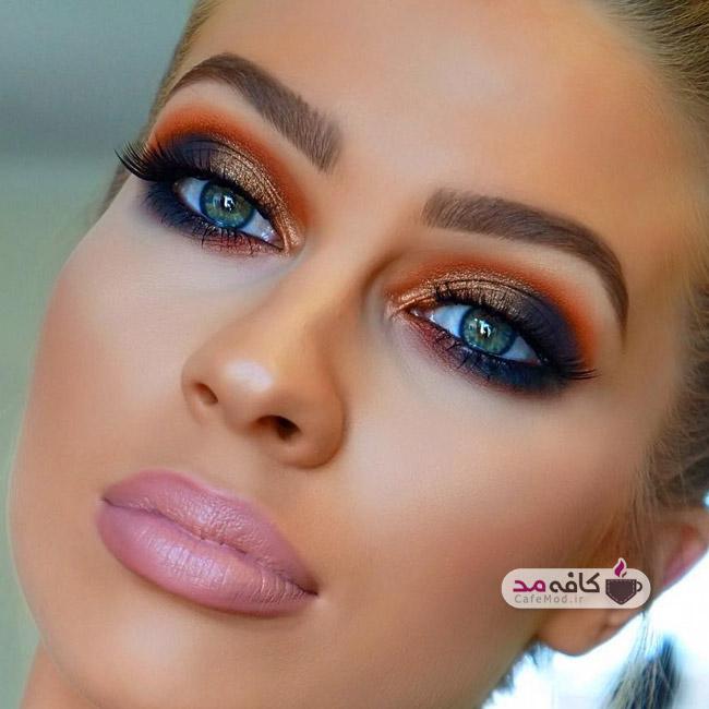 مدل آرایش شیک مجلسی