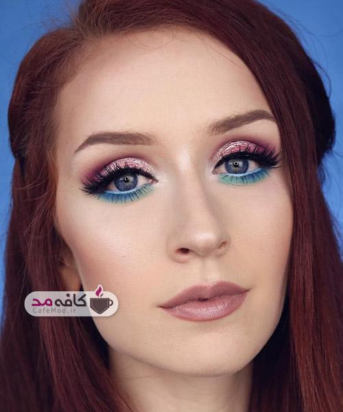 مدل آرایش صورت 2017