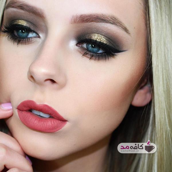 مدل آرایش صورت و زیبایی