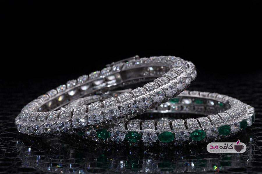 مدل دستبند جواهر زنانه