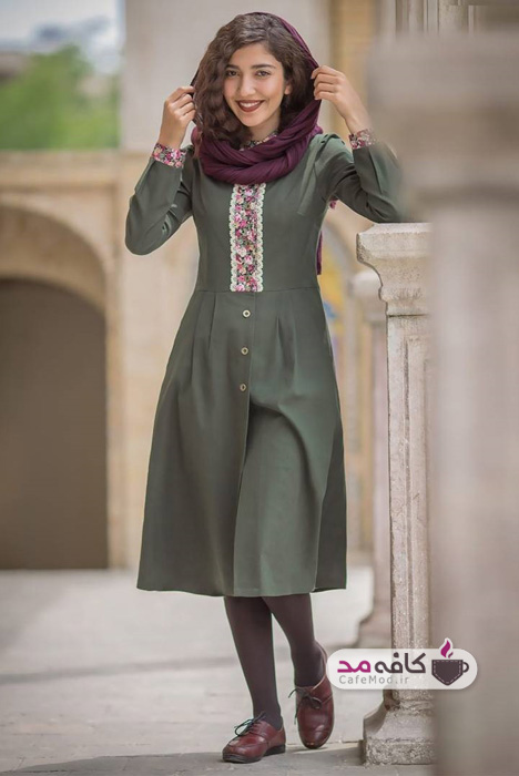مدل لباس زنانه گلگلی