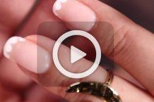 فیلم آرایش ناخن نقطه ای