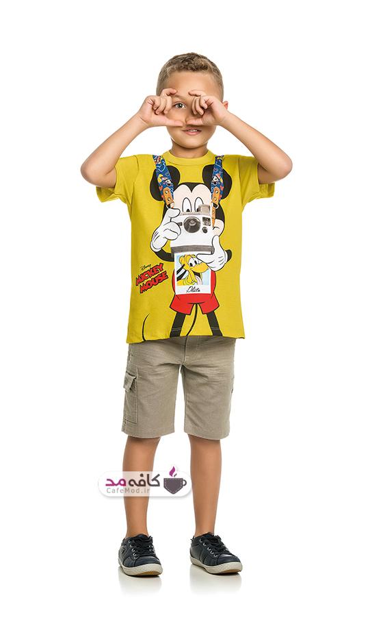 مدل لباس پسرانه Mickey Mouse