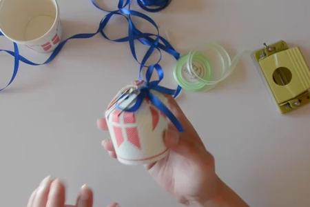 فیلم کادوپیچ با لیوان یکبار مصرف