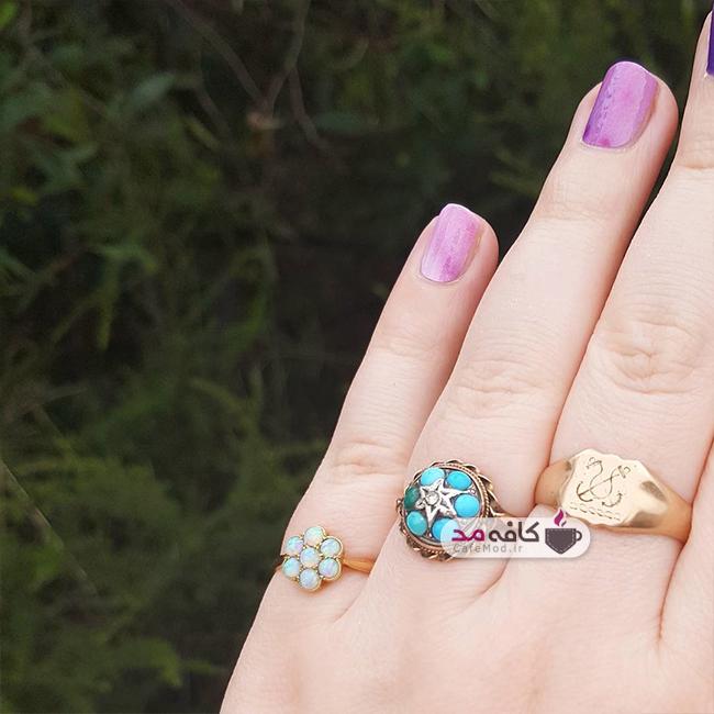 مدل انگشتر دست ساز Kate 🇦🇺