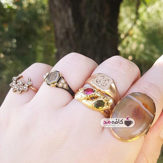 مدل انگشتر دست ساز Kate ????????