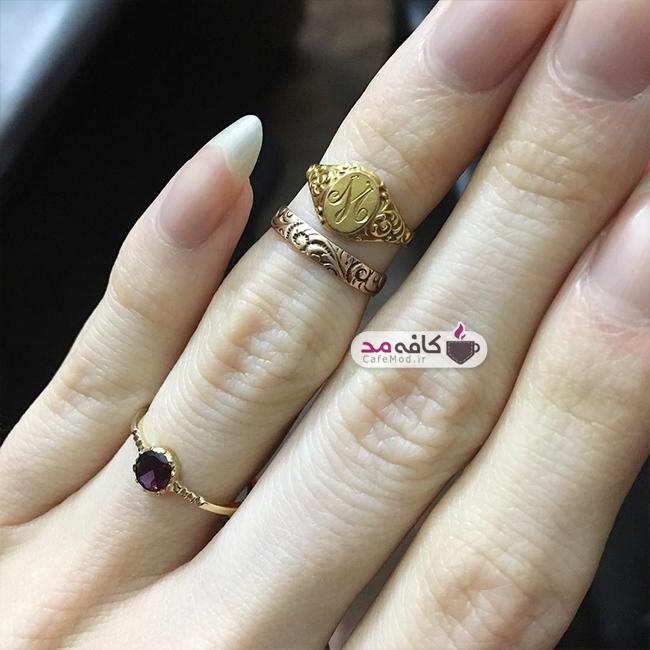 مدل انگشتر دست ساز Felicia