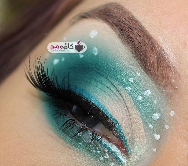 مدل آرایش چشم Zanemua
