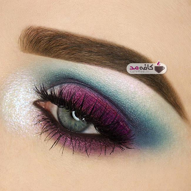 مدل آرایش زیبای چشم و ابرو