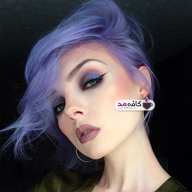 مدل آرایش صورت Molly Bee