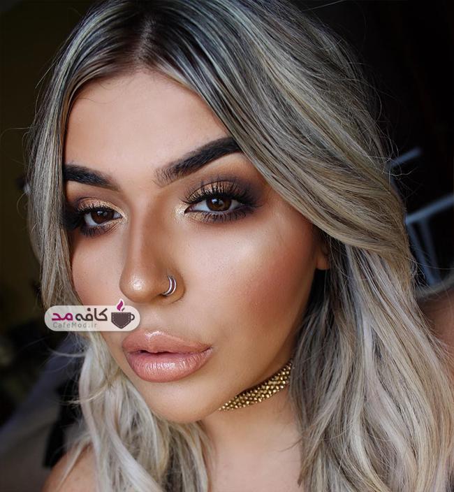 مدل آرایش صورت Kylee Taylor
