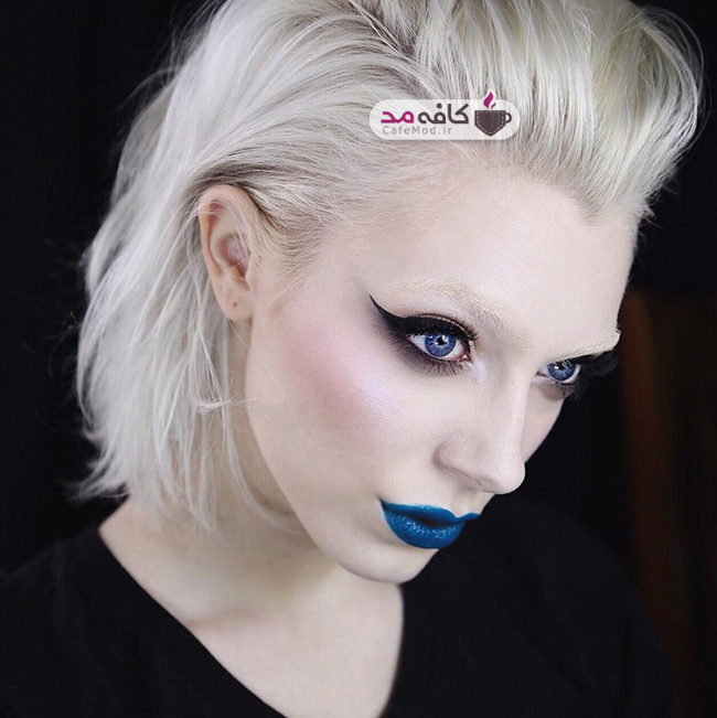 مدل آرایش صورت Leighdickson