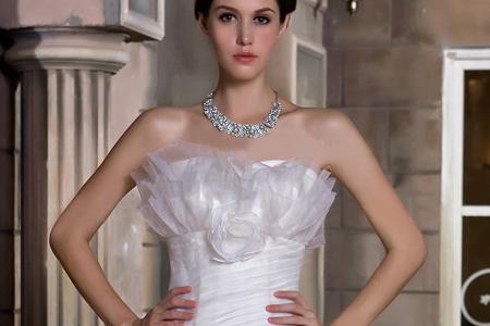 مدل لباس عروس پرنسسی 11