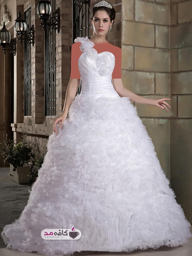 مدل لباس عروس پرنسسی