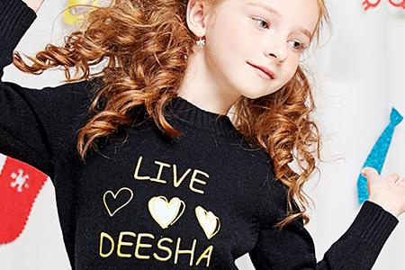 مدل لباس دخترانه زمستانه DEESHA