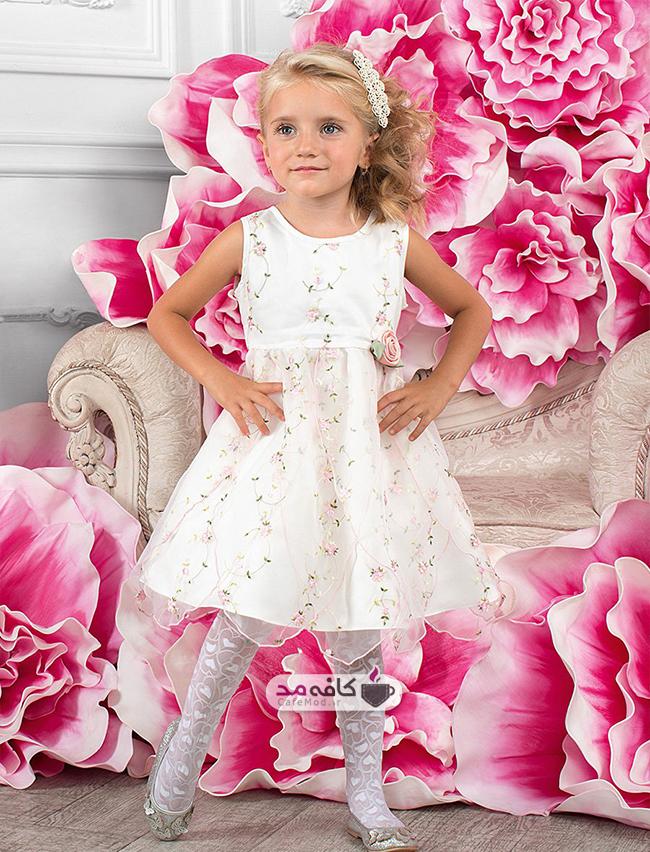 مدل لباس مجلسی دخترانه Charmante