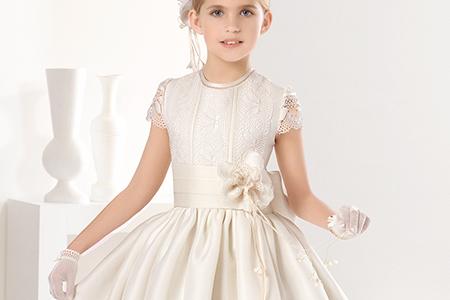 مدل لباس عروس دخترانه Rosa clara 10