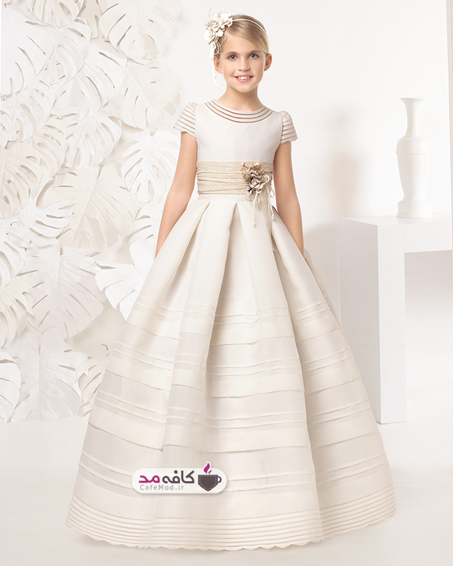 مدل لباس عروس دخترانه Rosa clara
