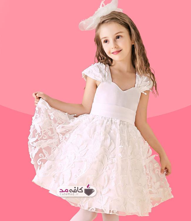 مدل لباس عروس دخترانه veaul