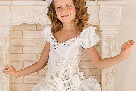 مدل لباس دخترانه مجلسی 9