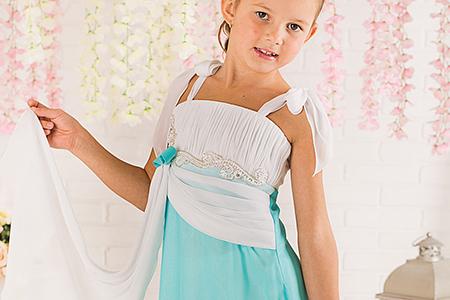 مدل لباس دخترانه مجلسی little princess 3