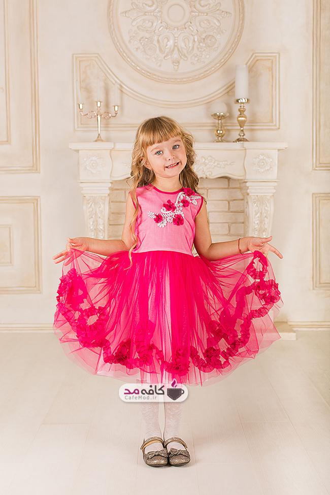 مدل لباس دخترانه مجلسی little princess