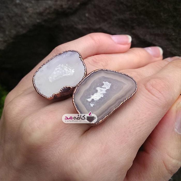 مدل انگشتر سنگی Ttereve