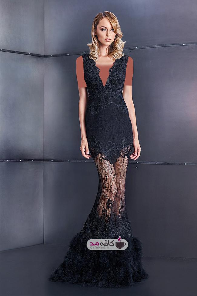 مدل لباس مجلسی زنانه Cristallini