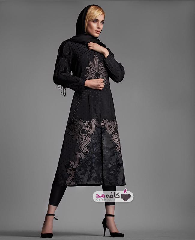مدل مانتو مجلسی ایرانی والر