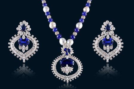 مدل جواهرات و نیم ست 9