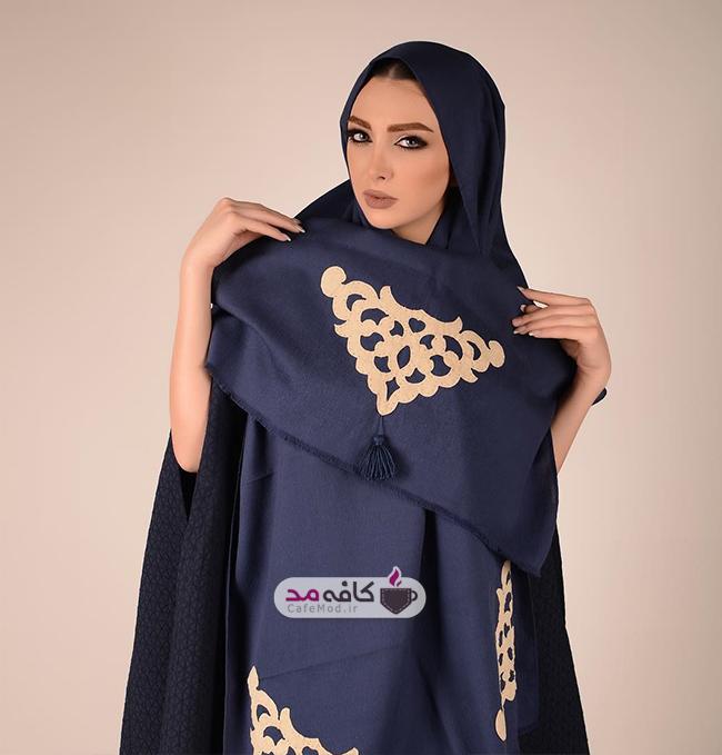 مدل شال زنانه برند ایرانی فرگون