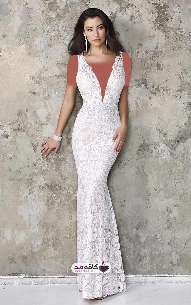 مدل لباس مجلسی Nina Canacci