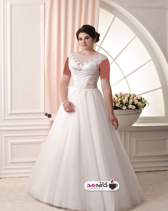 مدل لباس عروس سایز بزرگ