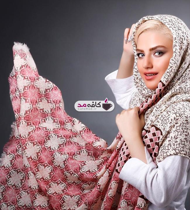 مدل شال و روسری برند ایرانی Donnabel