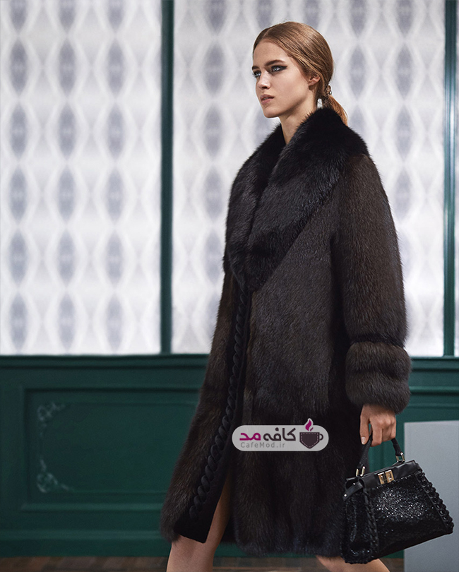 مدل پالتو زمستانه زنانه FENDI