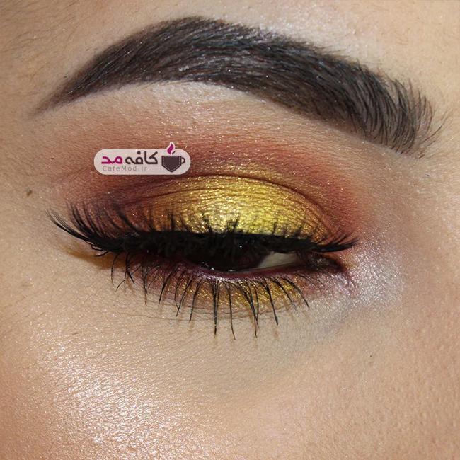 مدل آرایش چشم Nicole Marie