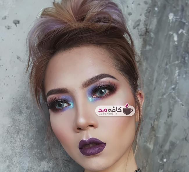مدل آرایش صورت فانتزی
